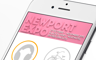 Application iPhone et Android NewPort Expo